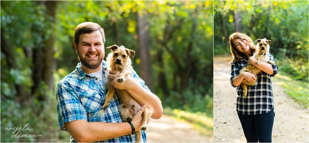 Eat Street Social Engagement Session Puppy Photos