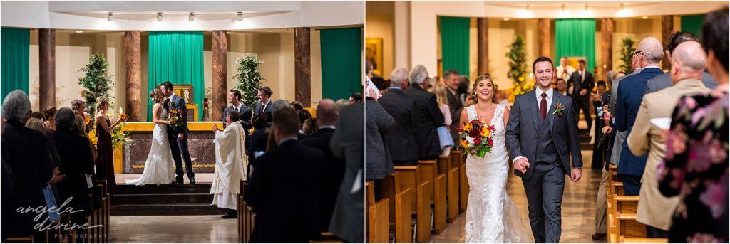InterContinental St. Paul Riverfront Wedding St. John's Church Ceremony Catholic