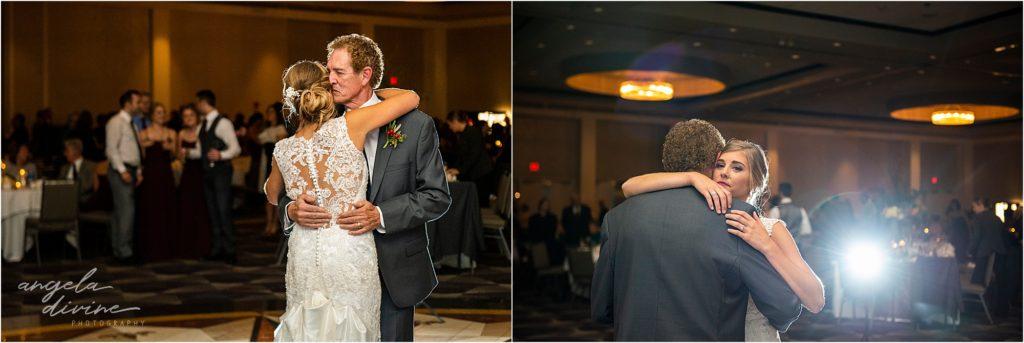 InterContinental St. Paul Riverfront Wedding father daughter dance