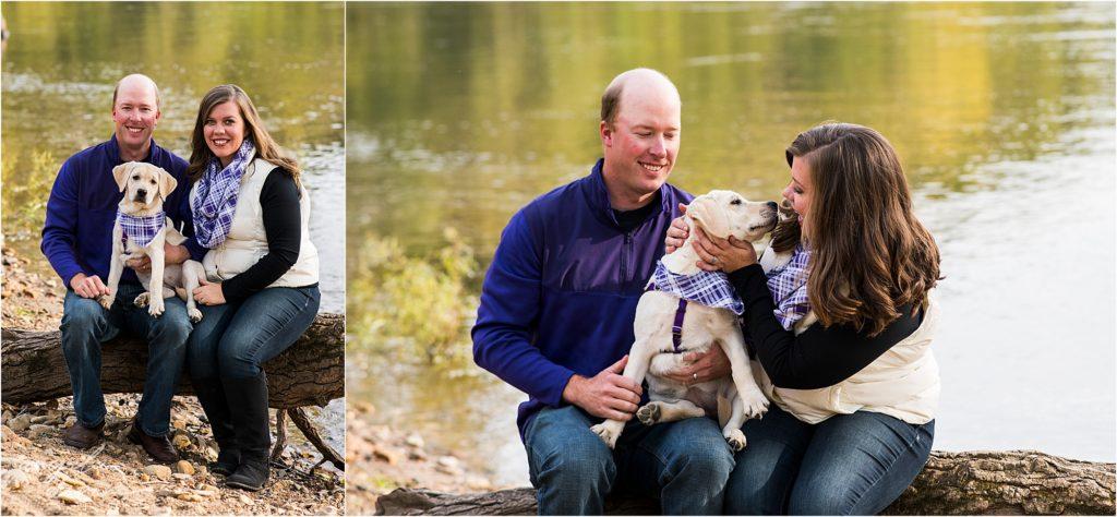 Minneapolis pet photographer - fur is my family project - Keri, Dan, and Tink
