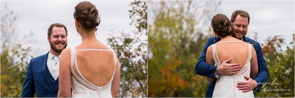 enger park duluth wedding first site