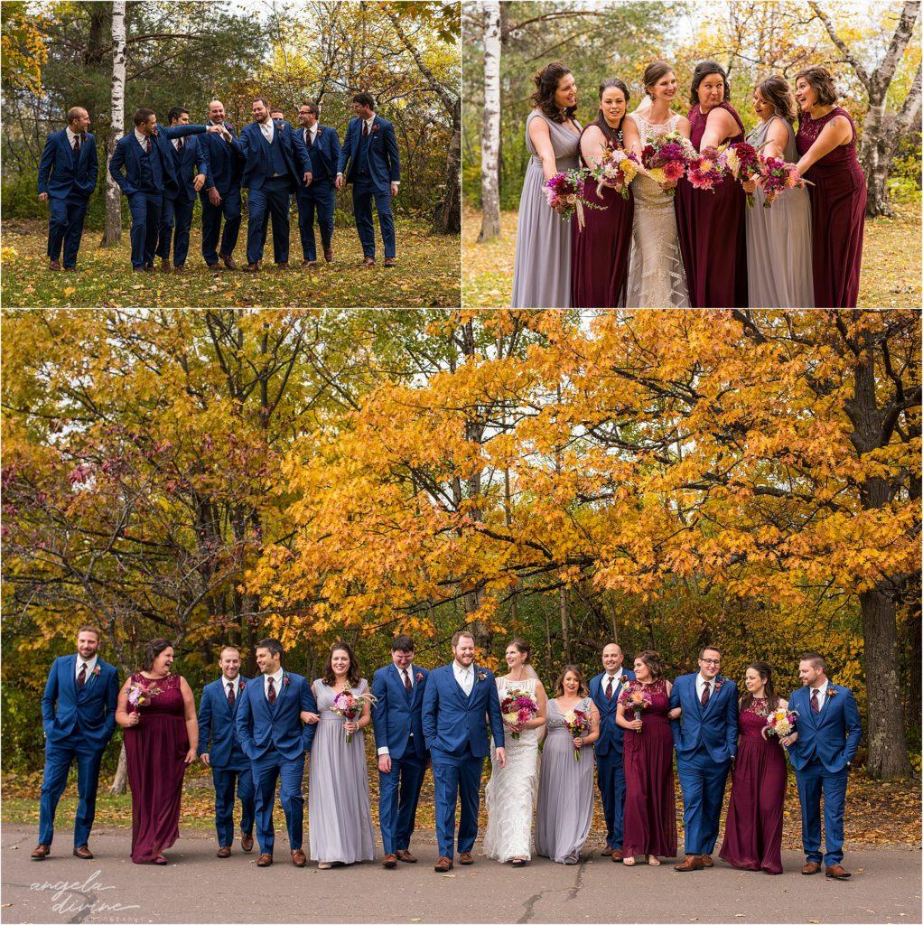 enger park duluth wedding party