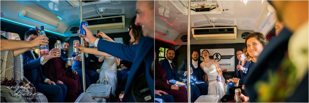 enger park duluth wedding party bus