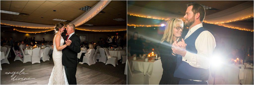 enger park duluth wedding Black woods event center father/daughter mother/son dance