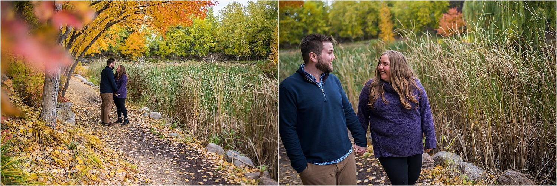 Centennial Lakes Edina Engagement October