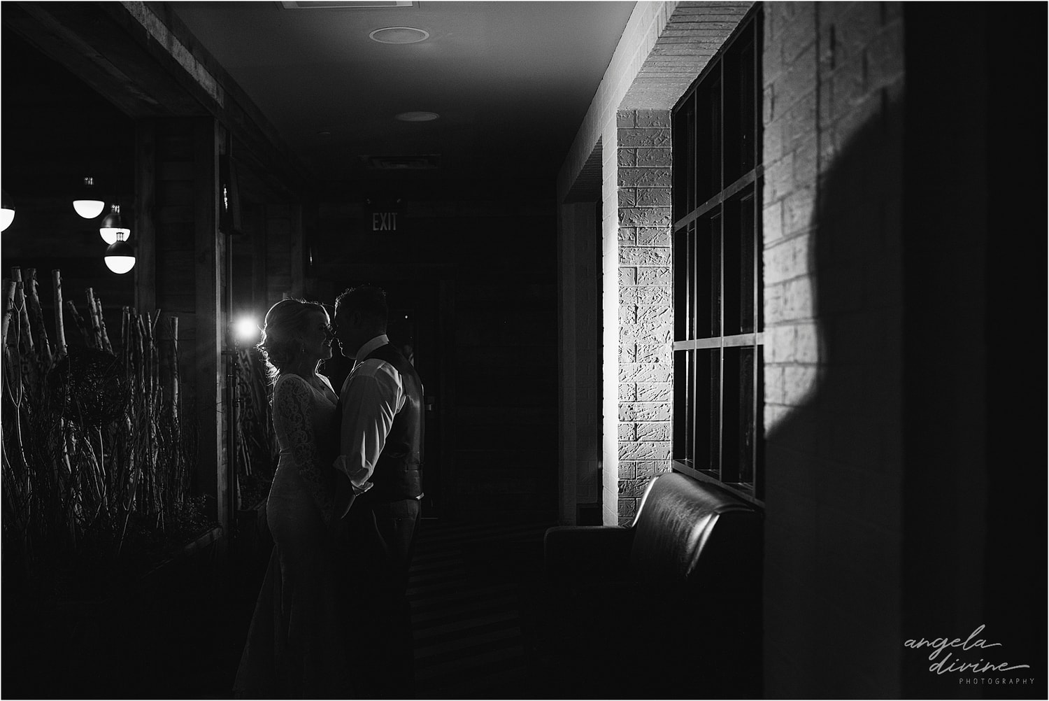 Graduate Minneapolis Wedding night shot