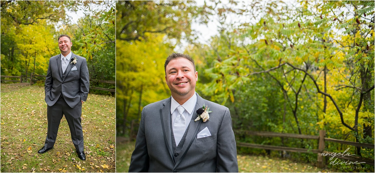 Graduate Minneapolis Wedding groom