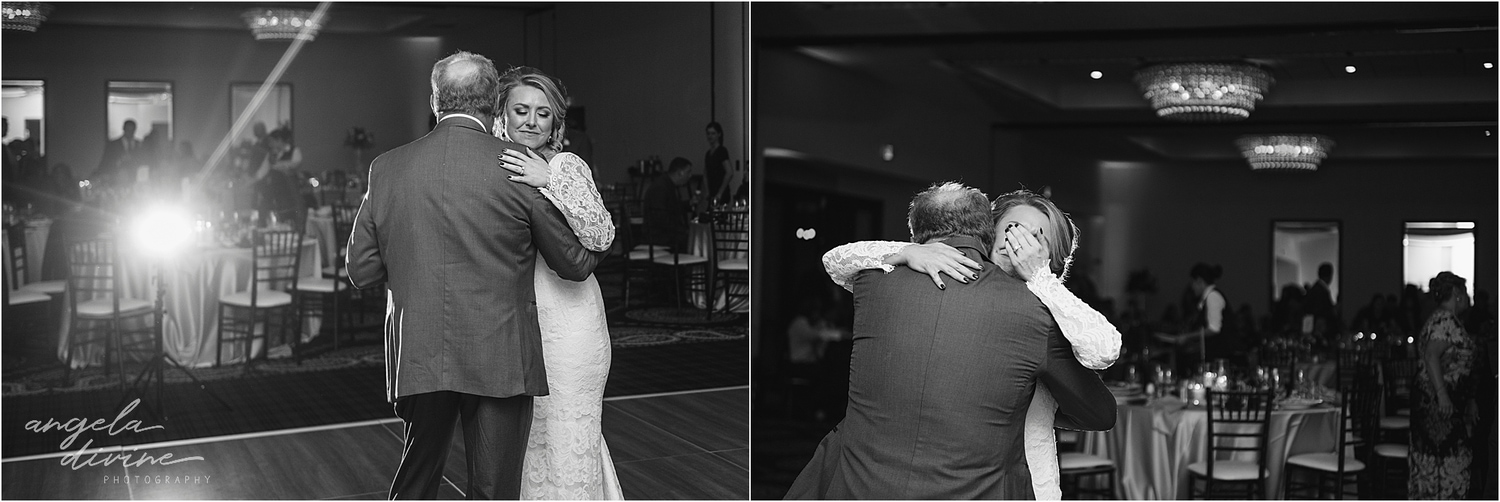 Graduate Minneapolis Wedding father-daughter dance