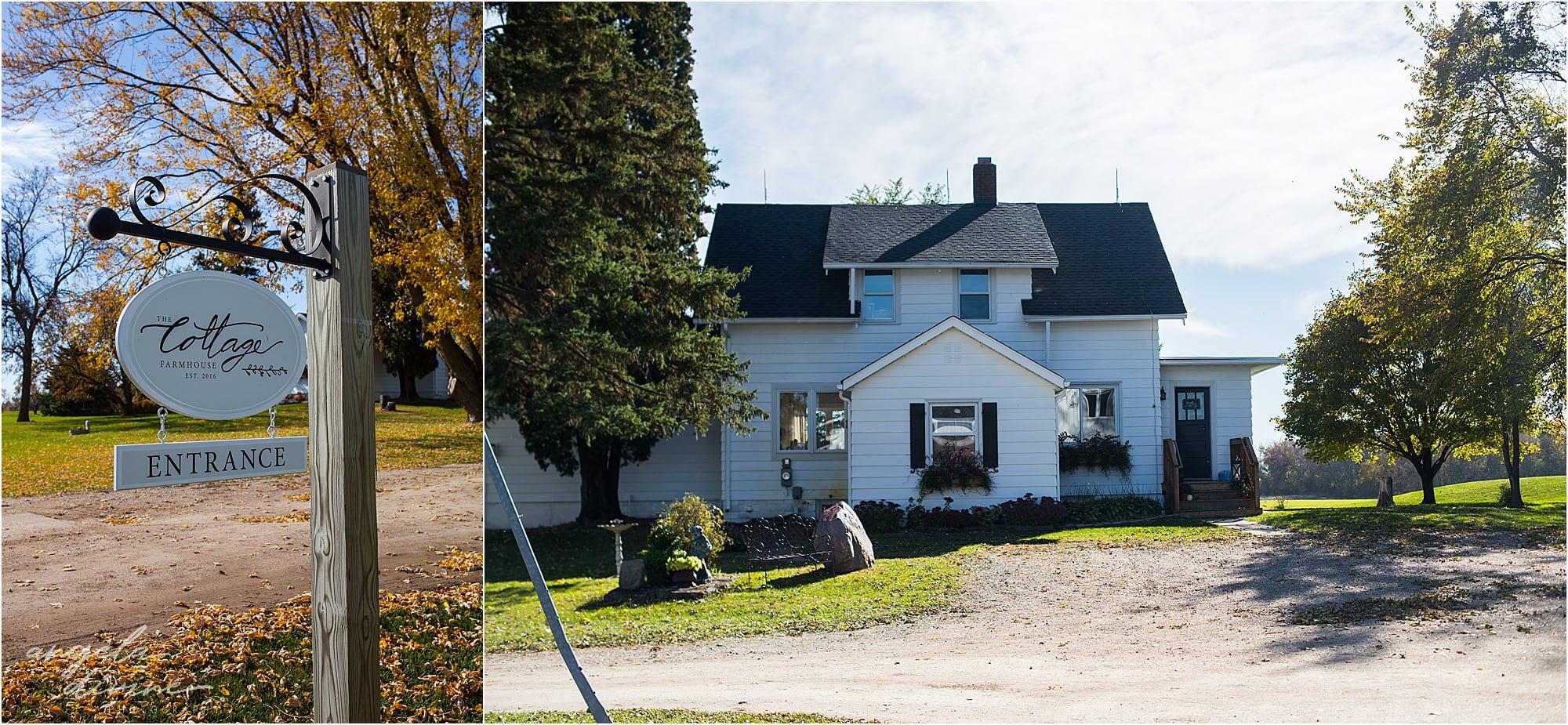 The Cottage Farmhouse Wedding exterior