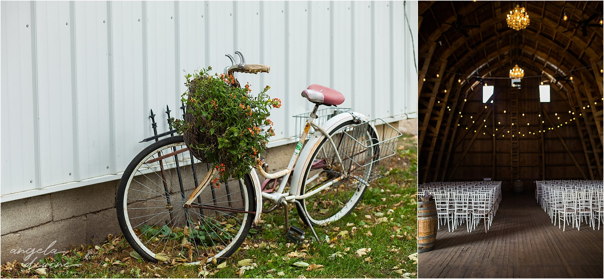 The Cottage Farmhouse Wedding bike