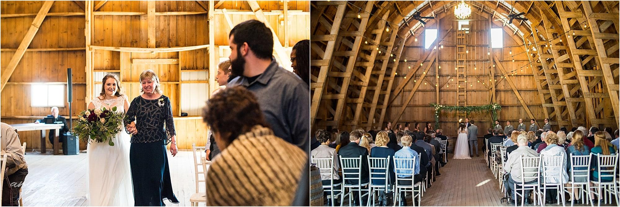 The Cottage Farmhouse Wedding Ceremony