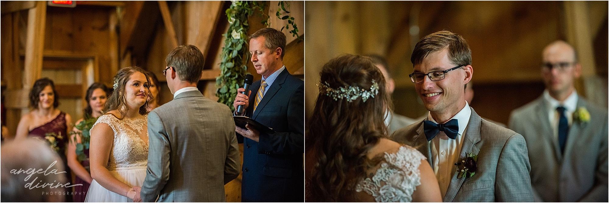 The Cottage Farmhouse Wedding Ceremony barn