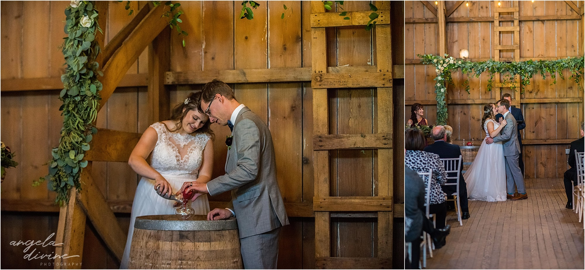 The Cottage Farmhouse Wedding Ceremony vows