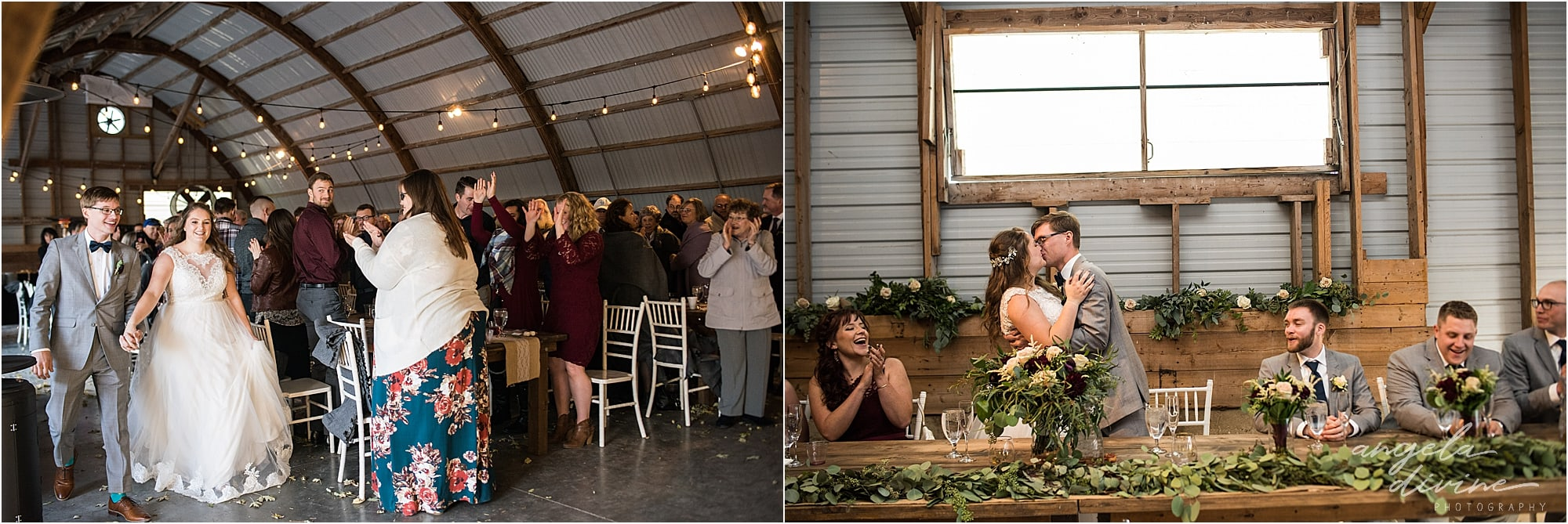 The Cottage Farmhouse Wedding Grand march