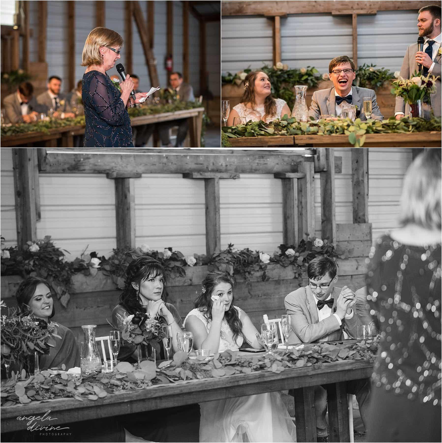The Cottage Farmhouse Wedding Toasts