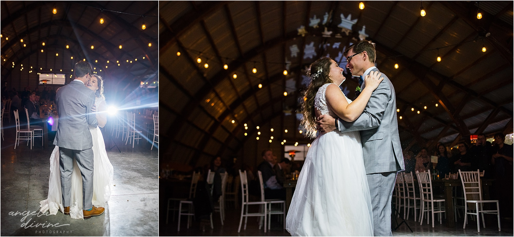 The Cottage Farmhouse Wedding First dance