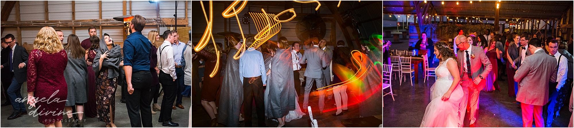 The Cottage Farmhouse Wedding Dance party
