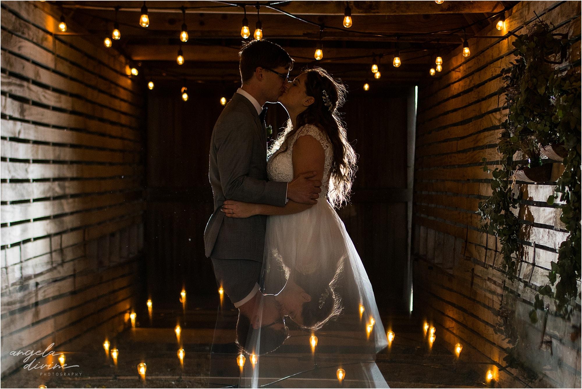 The Cottage Farmhouse Wedding Night photo