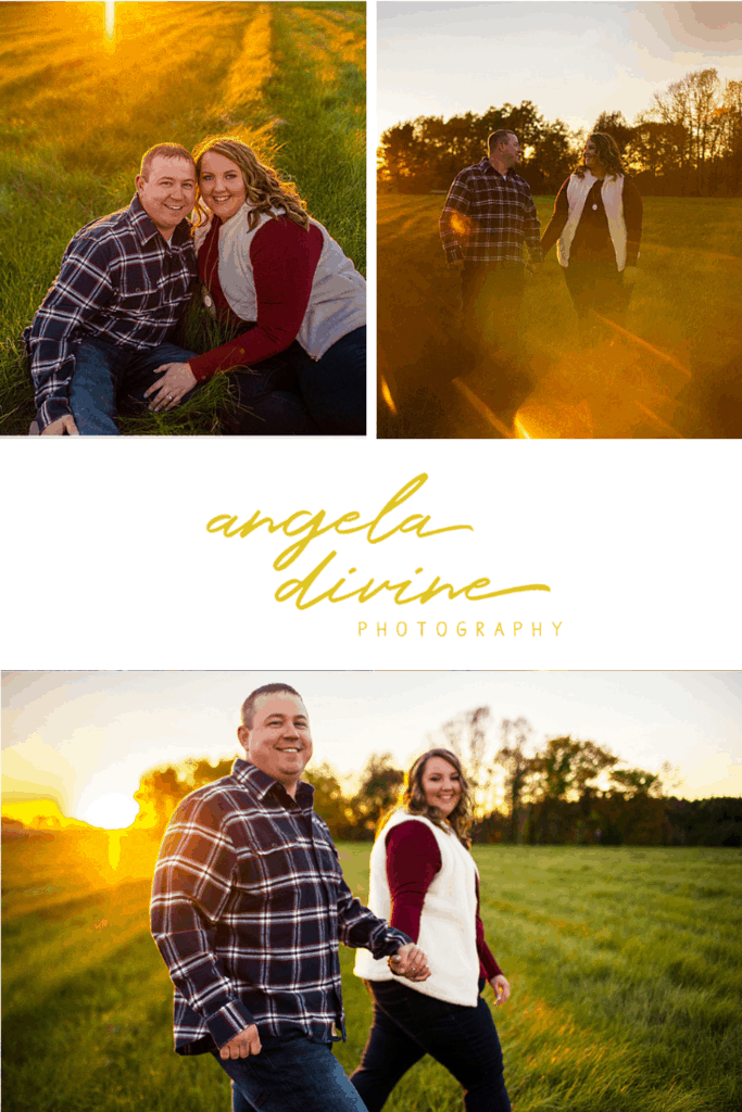 Amanda and Brian met online in 2015. They love to travel and explore the outdoors together. Being nature lovers, they wanted their engagement session to show off the incredible fall colors that come but once a year in Minnesota, and Creekside Farm was just the place. | Angela Divine Photography | #engagementsession #fall #minnesota #creeksidefarm | https://angeladivinephotography.com/creekside-farm-engagement-session/