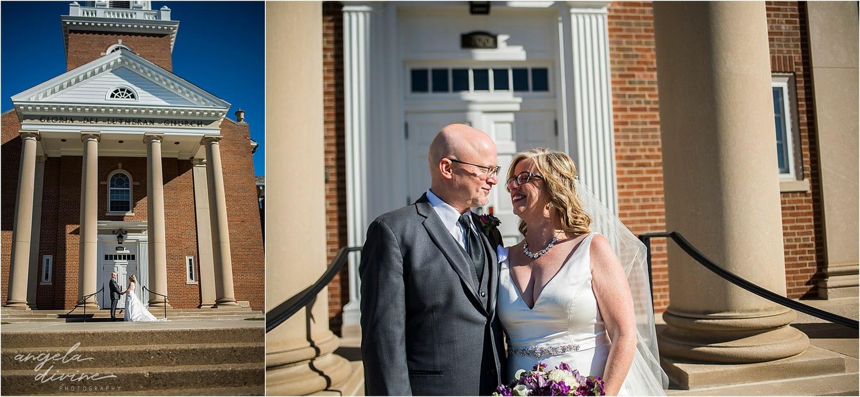 Gloria Dei Lutheran Church bride and groom