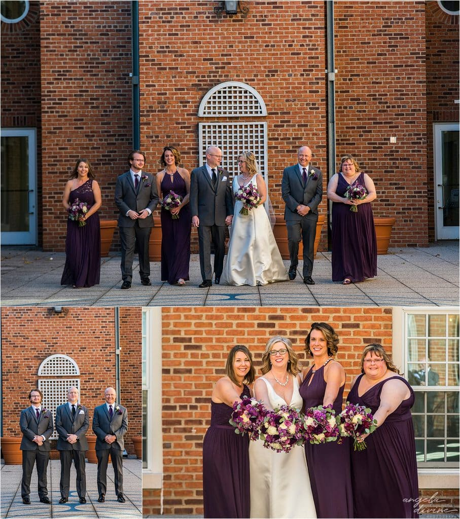 Gloria Dei Lutheran Church bridal party