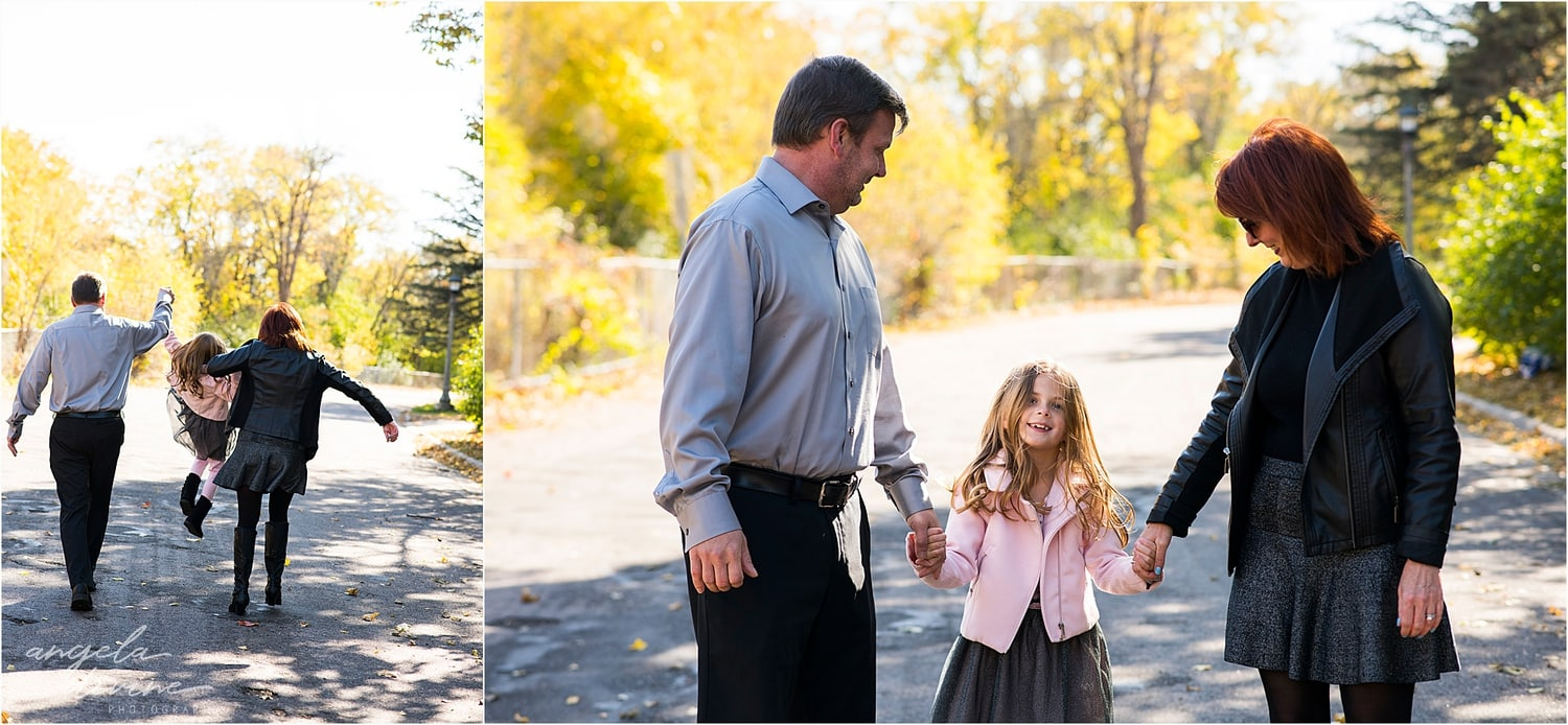 Highland Park Family Session laughing