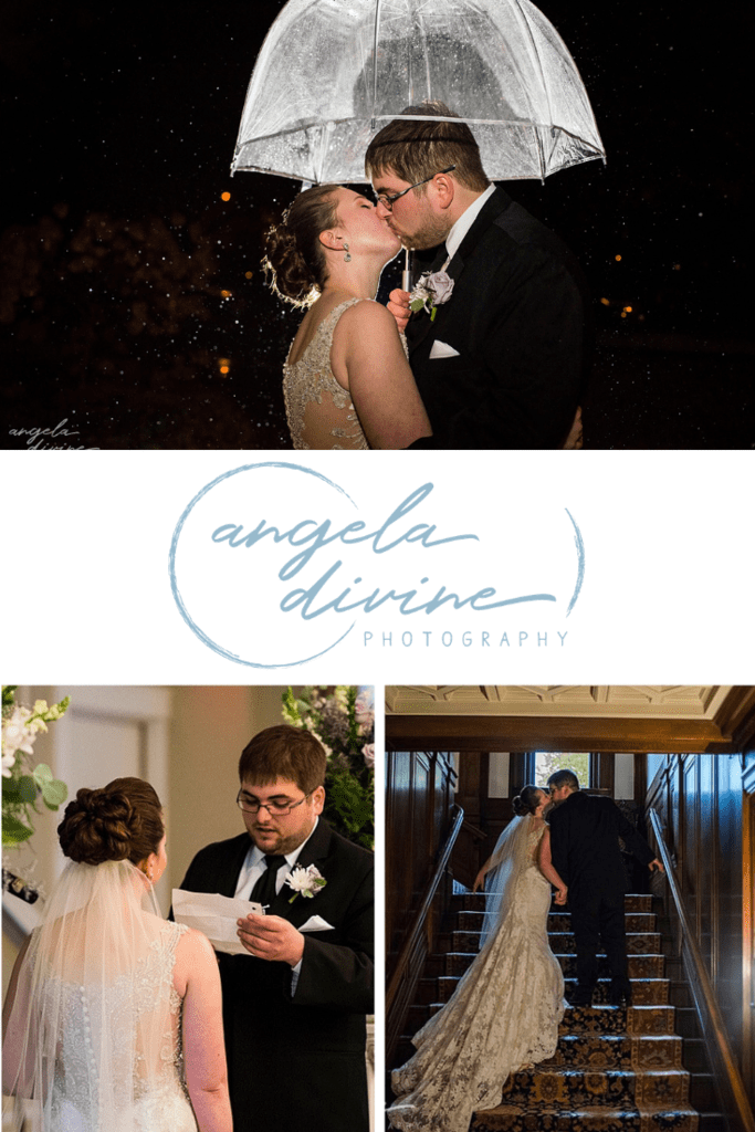These photos are from a fall wedding at the Gale Mansion in Minnesota. Visit my blog for more photos from this beautiful wedding ceremony and reception. | Angela Divine Photography | Minneapolis wedding + brand photographer | #wedding #fallwedding #galemansion | https://angeladivinephotography.com/gale-mansion-minneapolis-fall-wedding-lauren-colten
