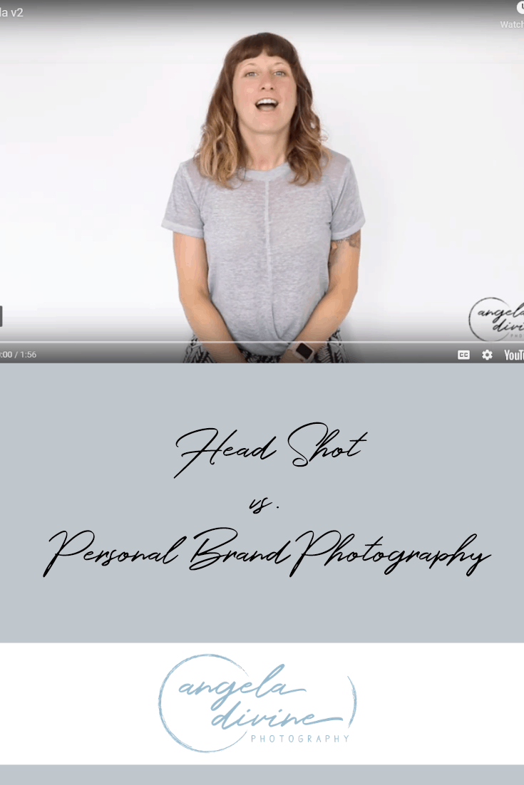 Do you know the difference between a head shot and brand photography? A head shot simply puts a face to your brand, while brand photography tells a much deeper story by showcasing who you really are. Watch this short video to learn more. https://angeladivinephotography.com/head-shot-vs-brand-photography/