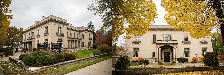 Gale Mansion Fall Wedding