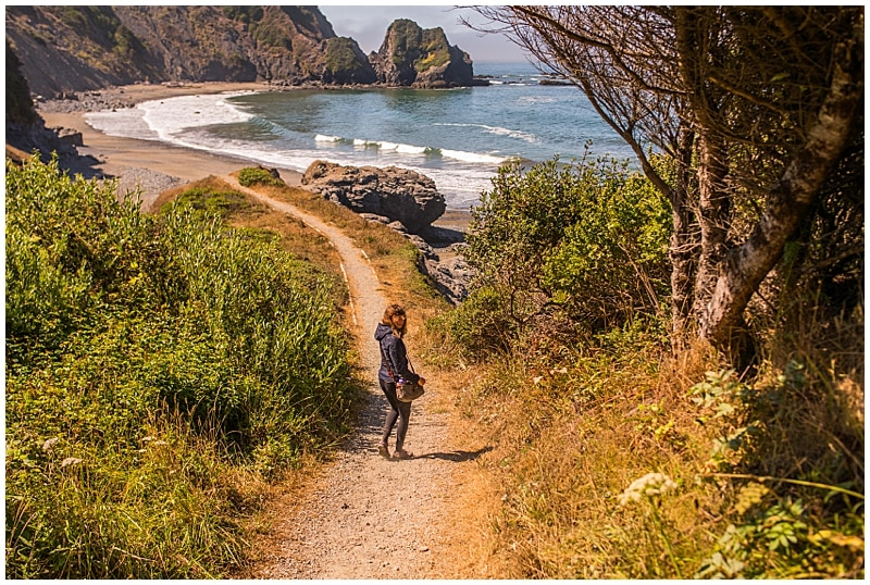 Del Norte Coast Beach Hike