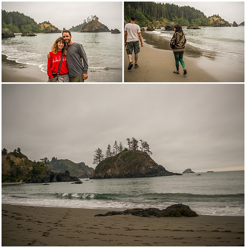 Walking Beaches in Trinidad California