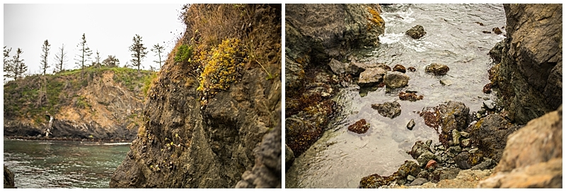 Rock Formations in Trinidad California