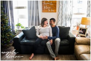 Minneapolis lifestyle maternity session