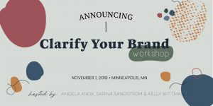 Clarify your brand workshop
