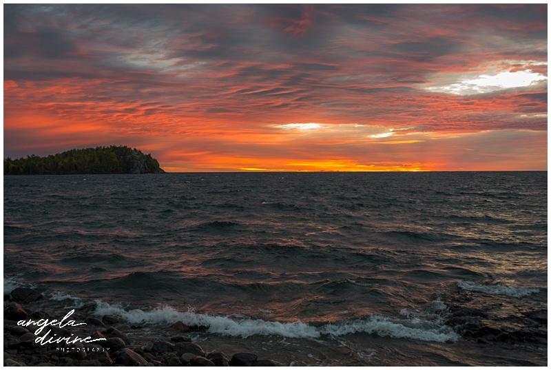 Split Rock Light House State Park Backpack Site 4