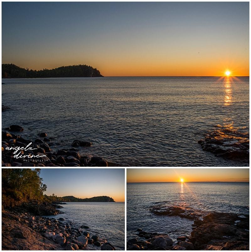 Split Rock Light House State Park Sunrise