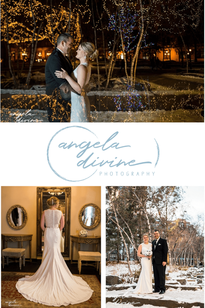 These pictures are from a winter wedding I photographed at Lowertown Event Center in St. Paul, Minnesota. Head to the link below to see more of their one-of-a-kind winter wedding day. | Angela Divine Photography | Minneapolis wedding + brand photographer | #wedding #minnesota #winterwedding | https://angeladivinephotography.com/winter-st-paul-wedding/