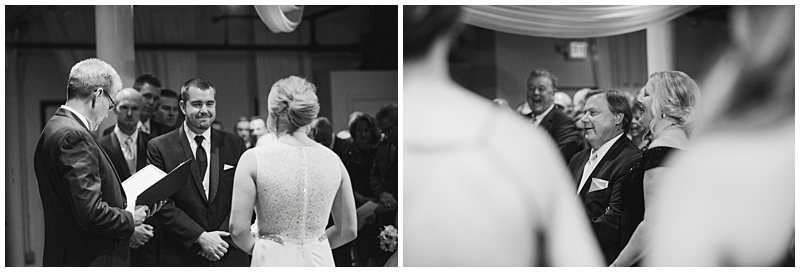 Winter St. Paul Wedding ceremony