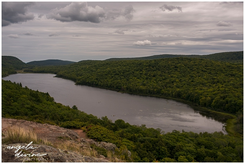Lake of the Clouds in Porcupine Mountains Wilderness Park