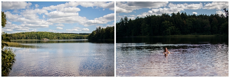 Michigan Mirror Lake