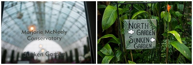 Como Conservatory Wedding Sunken Garden