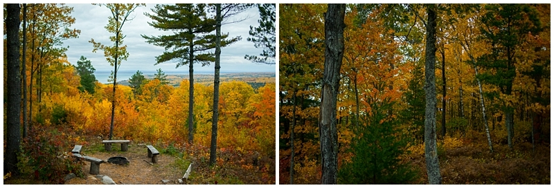 bayfield, wisconsin fall colors