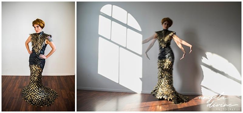 Minneapolis fashion photographer light and movement