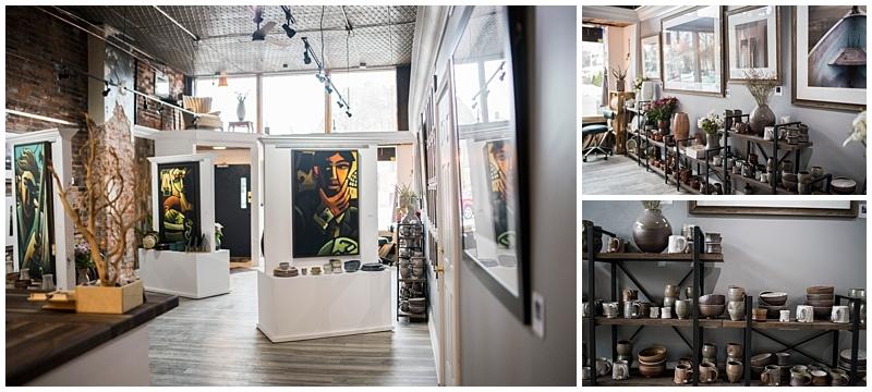 St. Paul Brand Session ceramics studio