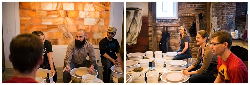 St. Paul Brand Session teaching ceramics