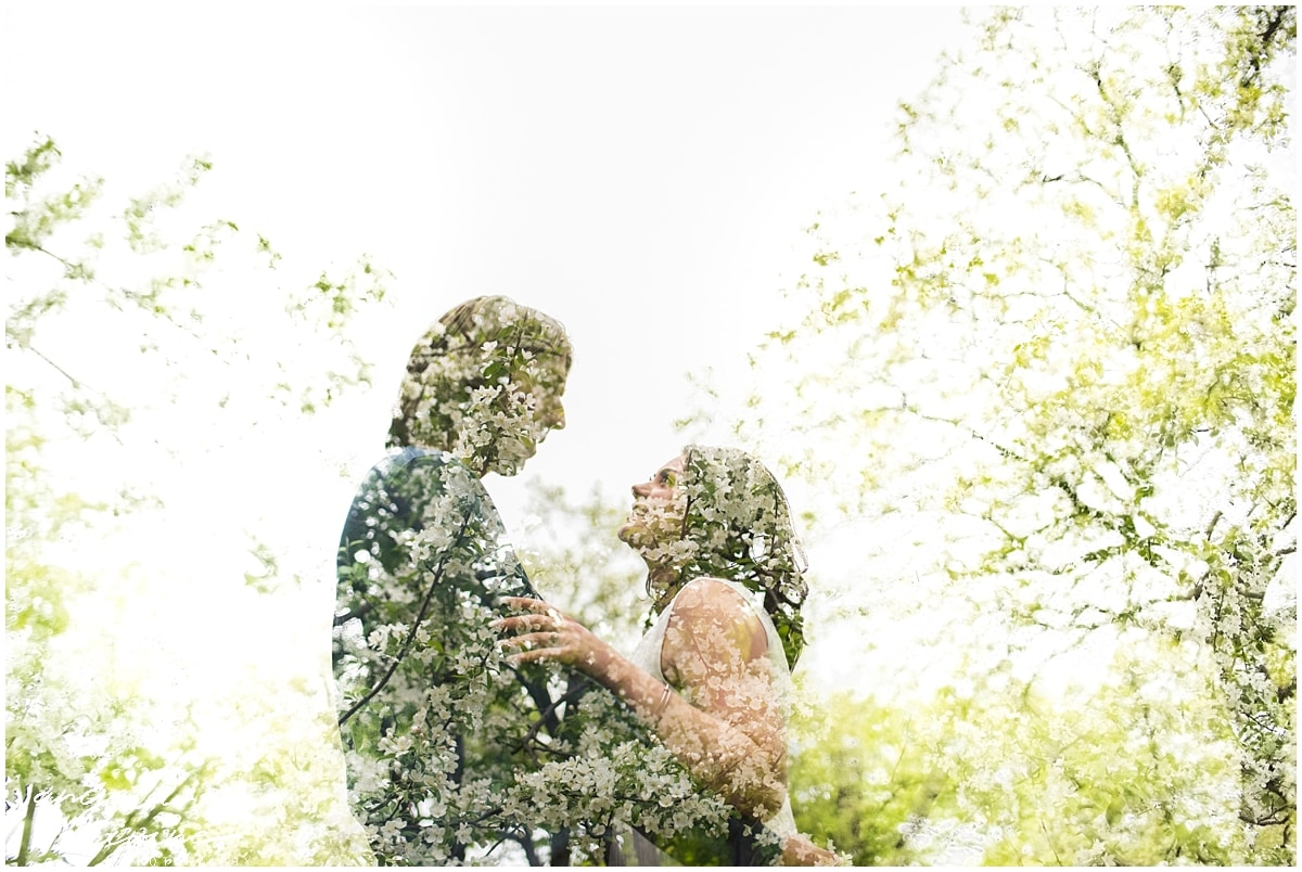 Nerf Gun Engagement Session in bloom