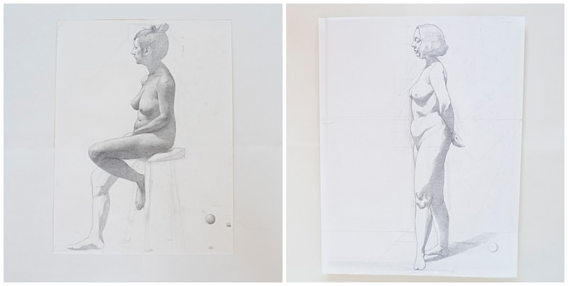 minneapolis artwork photographer nude sketches