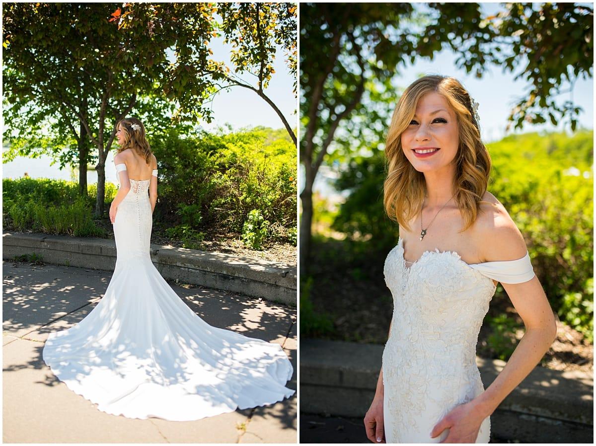 Loring Restaurant Wedding bride