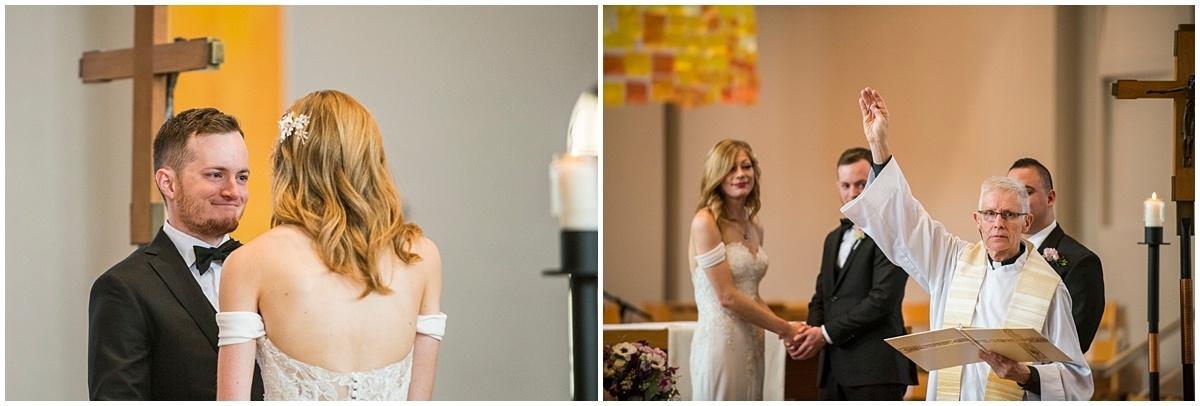 Loring Restaurant Wedding vows