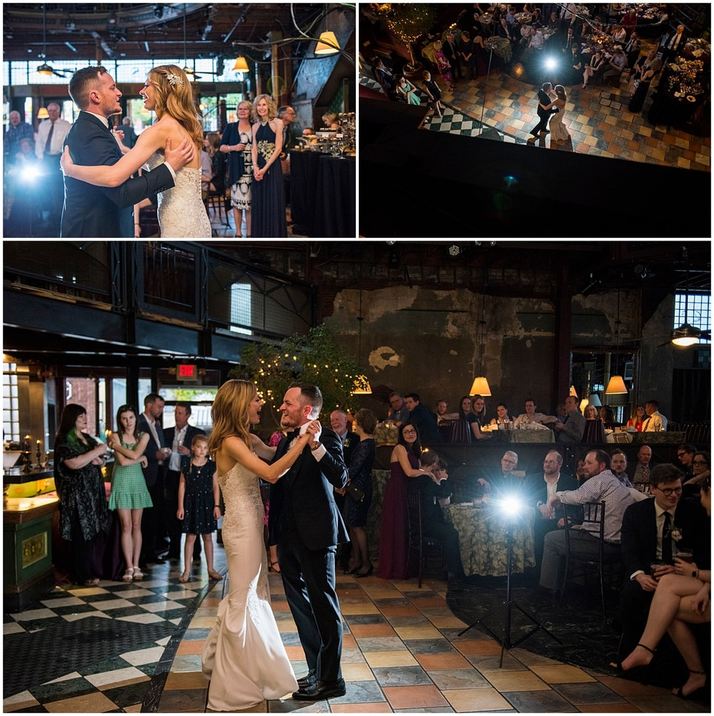Loring Restaurant Wedding first dance